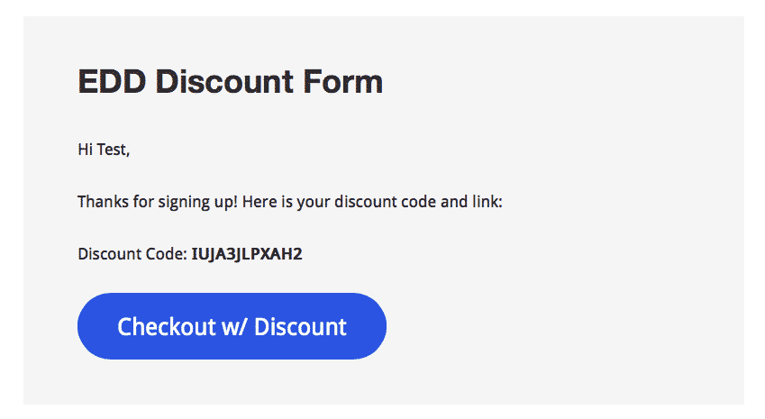 Create Random Discount Codes for EDD with Gravity Forms