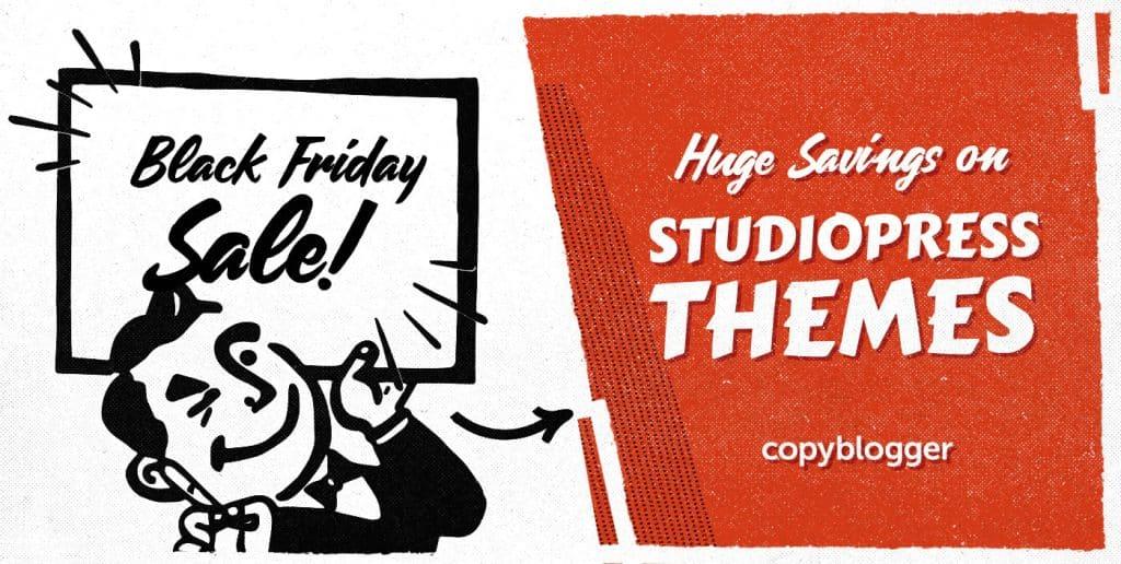 StudioPress Themes Black Friday 2019